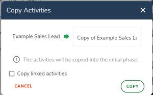 Copy activity - change title